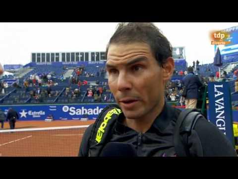 Rafael Nadal Post-match interview / R2 Barcelona Open 2017