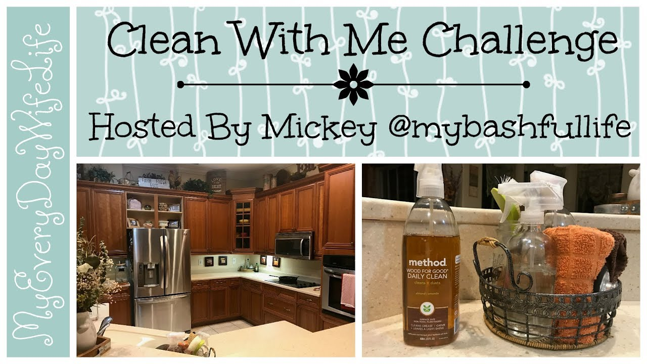 Clean With Me Challenge || Kitchen Cabinets || Hosted By Mickey ...