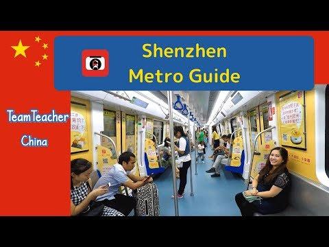 Shenzhen METRO; How to Ride.