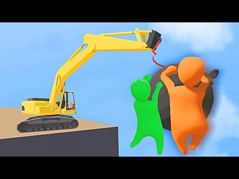 THE MOST DANGEROUS MULTIPLAYER GAME! (Human Fall Flat)