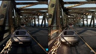 Need for Speed: Most Wanted Wii U vs. PC Comparison Video