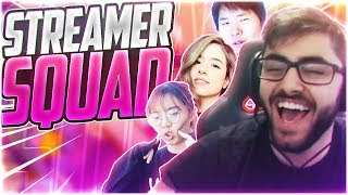 Yassuo | THE ULTIMATE STREAMER SQUAD!! Ft. Pokimane, DisguisedToast, LilyPichu