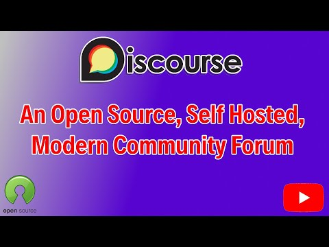 Discourse, A Free, Self Hosted, Open Source Modern Forum System For Gathering Your Online Community.