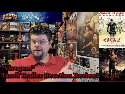 """Vivegam"" Tamil Trailer Reaction Review"