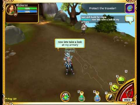 Arcane Legend Rogue Pvp Build Skill & Armory Lvl20