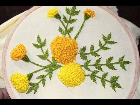 Hand Embroidery Designs   Stump work   Stitch and Flower-120