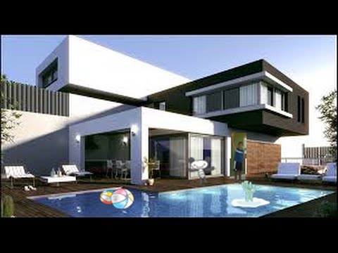 Mi Casa Moderna Y La Super Trampa xD/Minecraft - YouTube