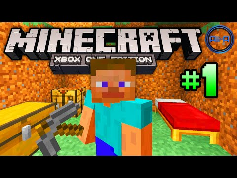 "Minecraft XBOX ONE gameplay Part 1 - ""THE BASICS!"" - (Xbox One Minecraft / PS4 Minecraft)"