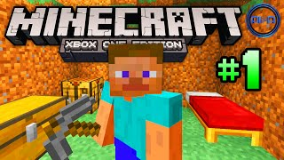 "Minecraft XBOX ONE gameplay Part 1 - ""THE BASICS!"" - (Xbox One Minecraft / PS4 Minecraft)"