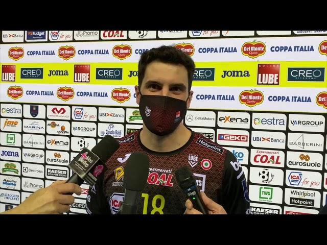 Hadrava, Falaschi e De Giorgi dopo la vittoria con Padova!