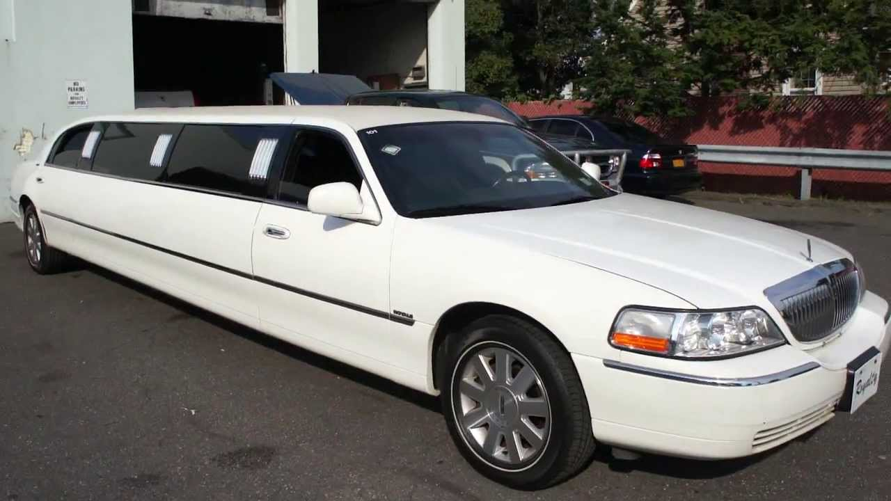 2003 lincoln town car signature series limo limousine for sale 9 pass built by royal ready to work [ 1280 x 720 Pixel ]
