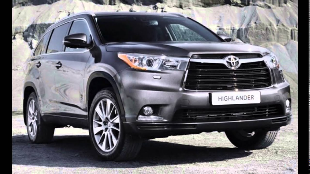 2016 2017 Toyota Highlander First Look Overviews Release Date You
