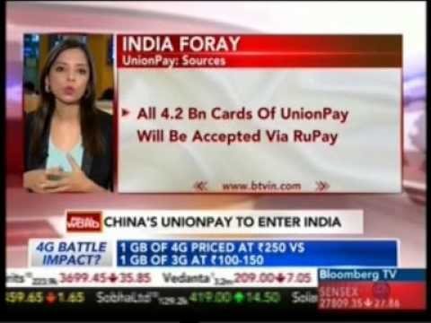 RBI Approves Entry Of Chinese Payments Co Union Pay