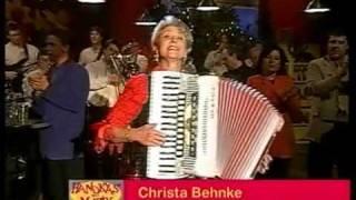 "Christa Behnke  Akkordeon Weltmeisterin     ""Salto Tastale""    Hand Käs mit Musik"
