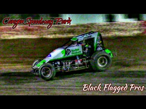 USAC SouthWest SprintCar Main At Canyon Speedway Park July 30th 2016