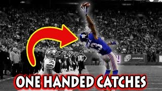 Greatest One Handed Catches in Football History