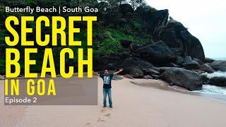 Secret Beach in South Goa | Butterfly Beach | Goa Vlog 2