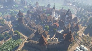Rich Medieval Town & Castle Minecraft Cinematic YouTube