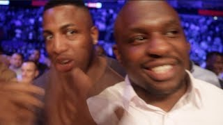 'GIVE ME DAVID HAYE ILL END HIS CAREER' - DILLIAN WHYTE REACTS TO TONY BELLEW DESTROYING DAVID HAYE