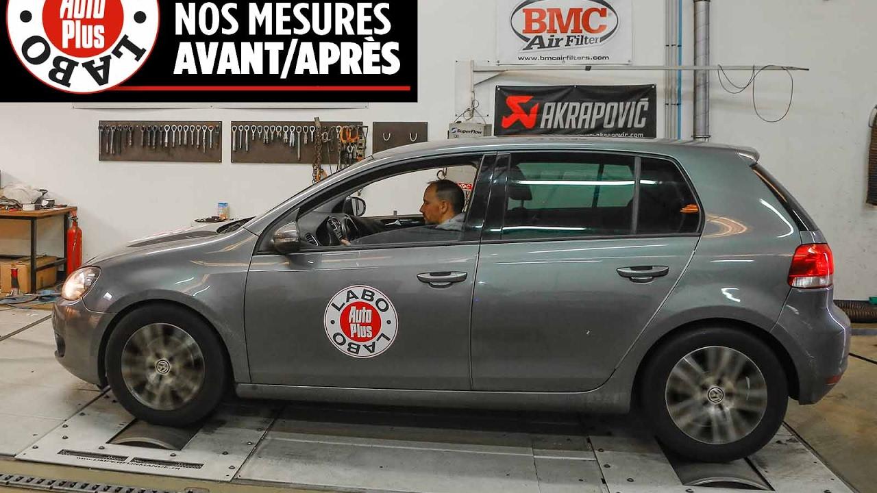 Volkswagen Golf 1.6 TDI 105 : les mesures avant-après rappel