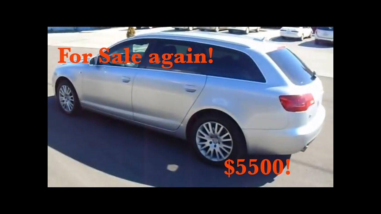 2006 Audi A6 Avant Wagon Quattro 32 Walkaround Review