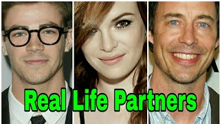 The Flash Cast Real Life Partners