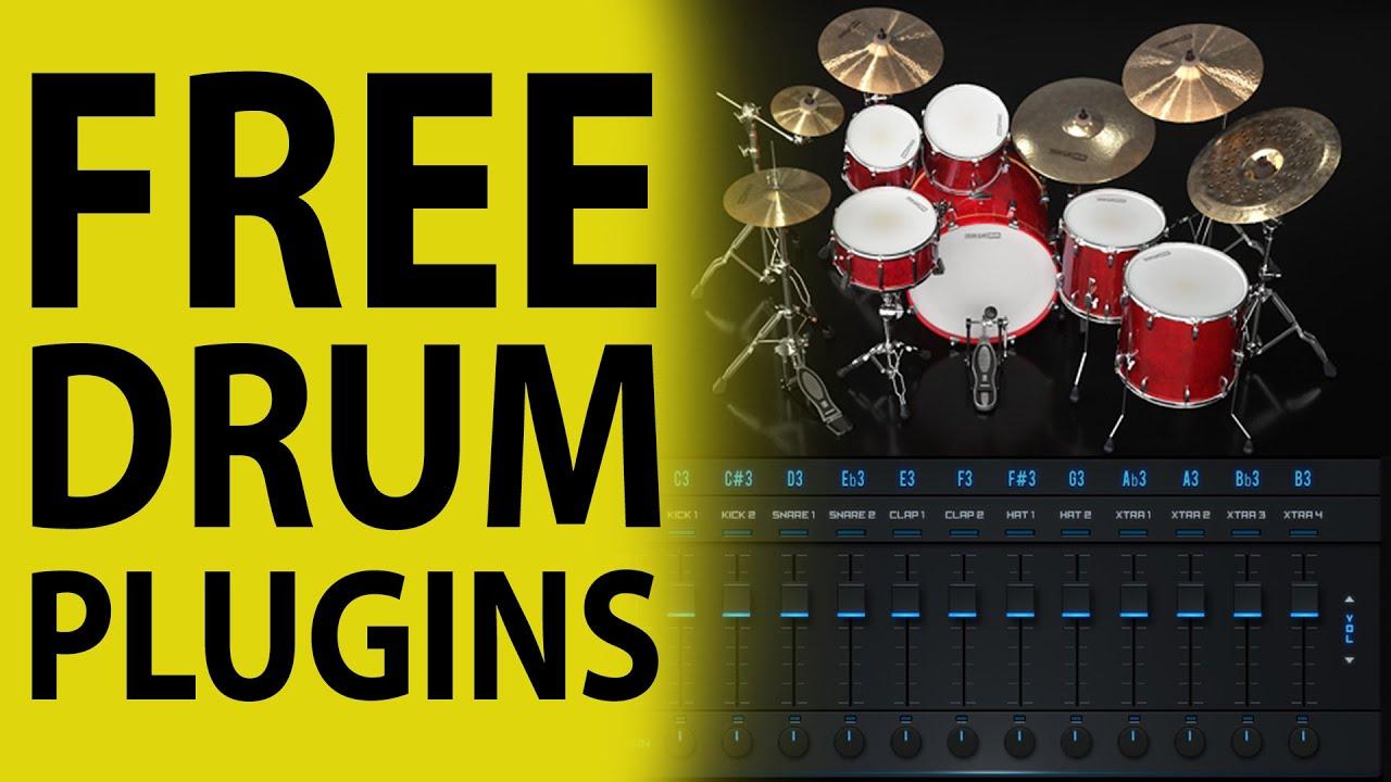 free drum plugins for logic pro x