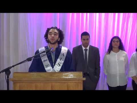 High School Graduation Speech - Alexandria Language School - Class 2017