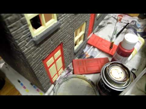 Modeltown G scale railway station building pt2