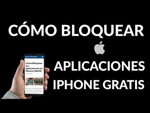 Cómo Bloquear Aplicaciones en iPhone