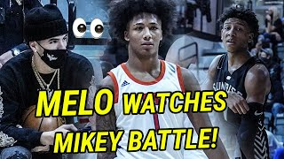 LaMelo Ball Watches Mikey Williams BATTLE The #1 Team In The Country! Sunrise Christian Is MEAN 😱