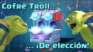 COFRE DE ELECCIÓN TROLL. Compramos todas las ofertas | Cofre Troll | Clash Royale con Alvaro845