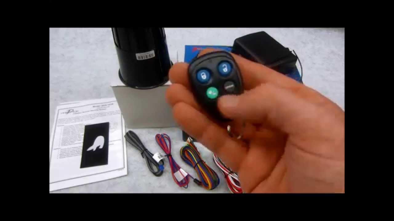 Audiovox Prestige Aps101n Remote Alarm System Review Youtube Wiring Diagram