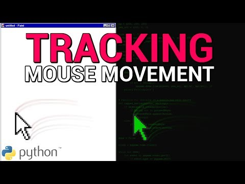TRACKING MOUSE MOVEMENT Using Pyautogui (Part 1) | Python Project