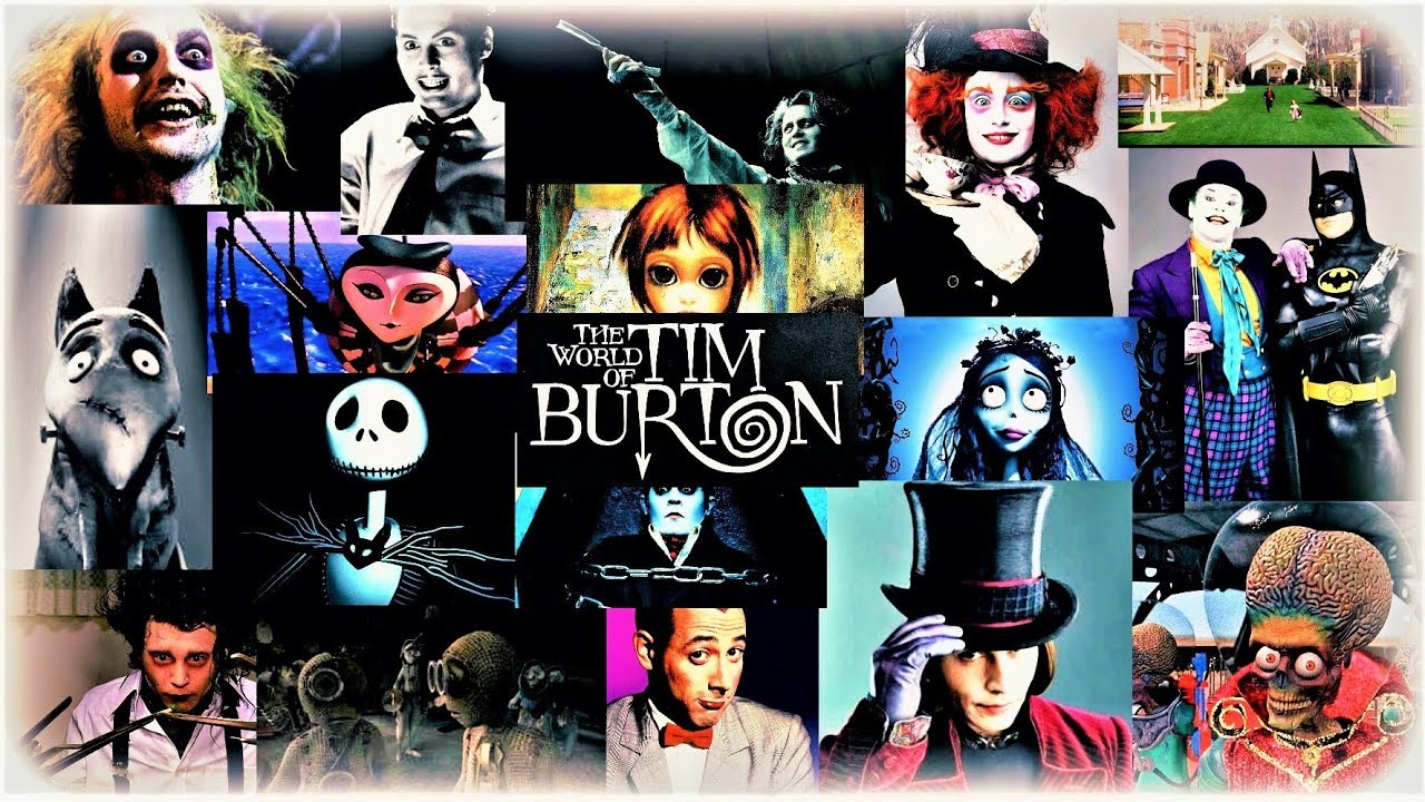 Image result for tim burton movies