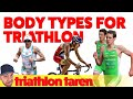 Best Body Type for Triathlons