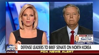 Graham Talks North Korea and Upcoming Russian Interference Hearing on Fox