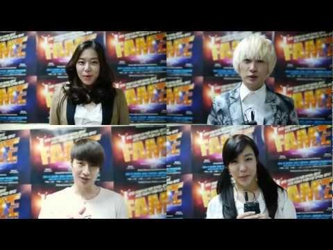 'FAME' Musical Footage - Eunhyuk, Tiffany, Jungmo