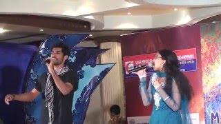 shreya ravindran with sree nath and rahul