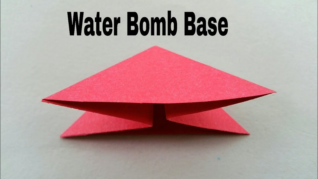 how to fold quotwater bomb basequot quickly in 3 simple methods