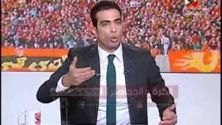 """السهم الاحمر لـ احمد شوبير """"لا أرى ولا اسمع و لااتكلم"""""""