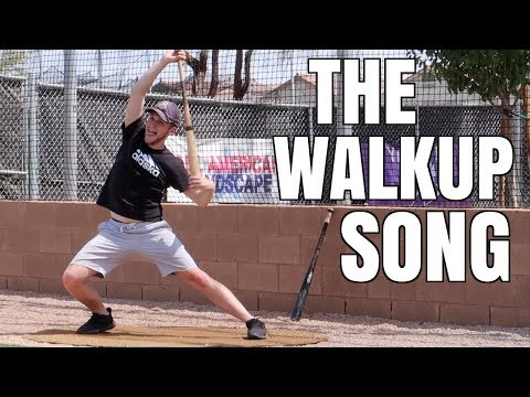 The Walkup Song - Baseball Stereotypes