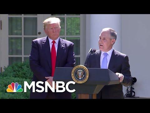 EPA Imploding Under Weight Of Scott Pruitt Scandals | All In | MSNBC