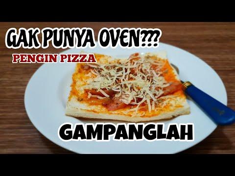 Pizza Roti Tawar Tanpa Oven