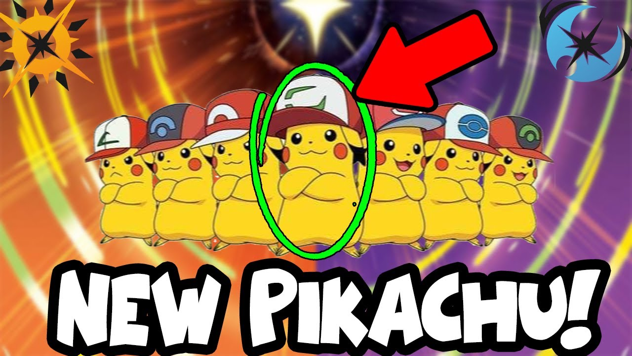 NEW PIKACHU FORM IN POKEMON ULTRA SUN AND ULTRA MOON!!! NEW ...