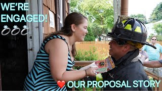 Our Engagement Story | How He Proposed
