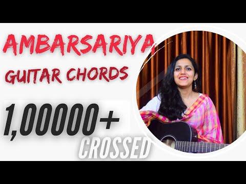 Ambarsariya Guitar Chords Lesson   Simple Lesson   Sona Mohapatra (Fukrey)