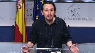 España retoma gestiones para proponer un presidente, con Sánchez como única opción