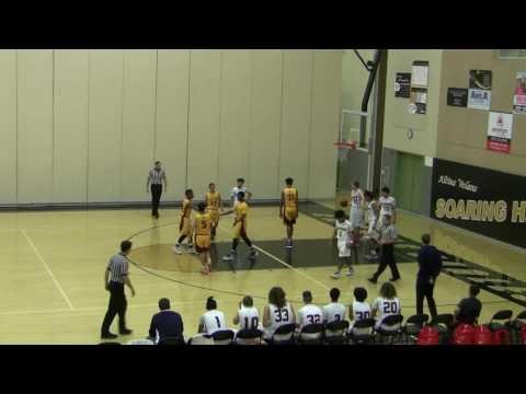 Clovis West vs Beyer High School Boys Basketball FULL GAME 12/3/16