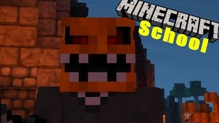 Minecraft School - LITTLE LIZARD GOES TO A SURPRISE VAMPIRE PARTY!